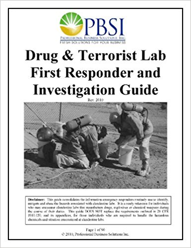 Books by Donnell Christian: Drug and Terrorist Lab First Responder and Investigation Guide